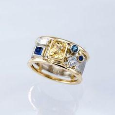 Diamond Jewelry, Jewelry Rings, Silver Jewelry, Fine Jewelry, Silver Rings, Fancy Jewellery, Craft Jewelry, Jewellery Shops, Damas Jewellery