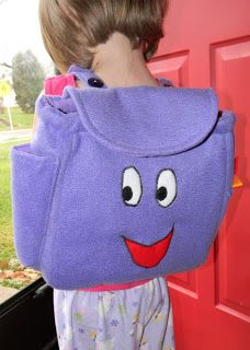 "Vibrant Designs: Dora's ""Backpack"" Tutorial!!"