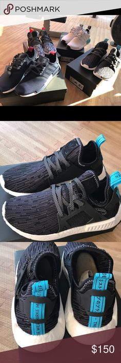 wholesale dealer 82682 72250 Adidas nmd xr 1 pk black white women size 6 us Adidas nmd xr 1 women
