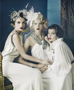 The Great Gatsby Inspired Looks…  ❤