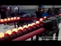 laminador de inclinación, máquina de laminación de inclinación, bola de ...