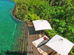 Ubud Hanging Gardens in Bali... looks like heaven!