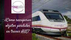¿Cómo puedo recuperar objetos extraviados en los trenes AVE?   Blog Truecalia https://www.truecalia.com/blog/objetos-extraviados-en-los-trenes-ave/