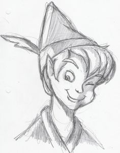 #peterpan I love this type of drawing :)