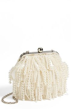 Sondra Roberts 'Pearl' Clutch available at #Nordstrom
