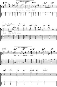 Misty Jazz Guitar Chords; great website with free lessons for those seeking to learn more about playing jazz.
