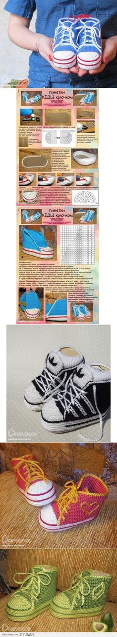 DIY Baby Booty Shoes DIY Projects | UsefulDIY.com na Stylowi.pl