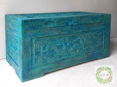 Camphor chest. From brown to wow.