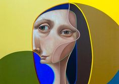 Post Neo Cubism: Paintings & Murals by Belin – Inspiration Grid | Design Inspiration
