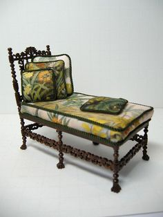 Tropical Day Bed, reholstered Bespaq Frame