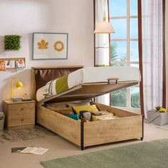 A storage bed that creates a relaxed sophistication in any child's bedroom. Use our boys bedroom furniture to perfectly transform the decor of your teen boys room. Boys Bedroom Furniture, Kids Bedroom Boys, Teen Boy Bedding, Ottoman Bed, Childrens Beds, Stockholm, Duvet Covers, Toddler Bed, Contemporary