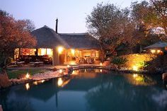 Brits Self catering, Finfoot Lake Reserve offer guests luxurious and modern accommodation 90 minutes from Johannesburg and 30 minutes from Sun City. The reserve is set on 3500 hectare with 8 km of pristine water frontage offering guests an unforgettable experience. Sun City, Catering, Mansions, Luxury, House Styles, Water, Outdoor Decor, Modern, Home Decor