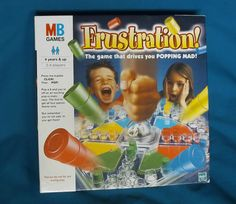 Frustration - Family Board Game - MB Games - Fully Playable (spares or repairs)