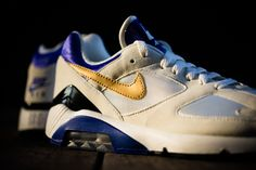 Nike Air Max 180 QS Summit White Metallic Gold Bright