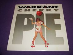 "Warrant / Cherry Pie / 12"" Vinyl LP Record / Columbia 1P 8056 / Near Mint Vinyl"