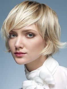 this is doable, with my hair type, I think. bob on slightly wavy hair