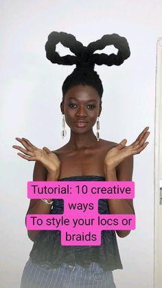 Beautiful Hairstyles, Black Women Hairstyles, Dreadlock Hairstyles, Braided Hairstyles, Hairstyle Ideas, Hair Ideas, Type 4 Hair, Faux Locs, All Things Beauty