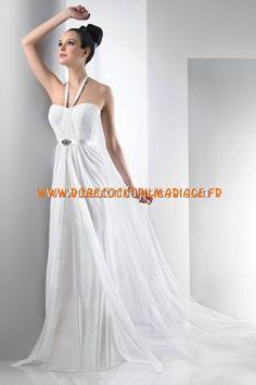 Bari Jay White Robe de Mariée - Style 2013