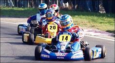F.Alonso they all come, almost, karting