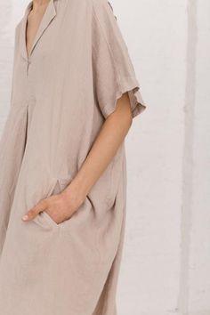 Kite Dress in Oatmeal