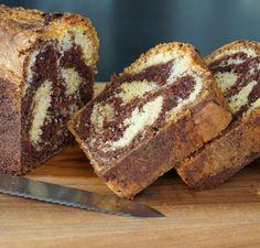 gâteau marbré facile et moelleux