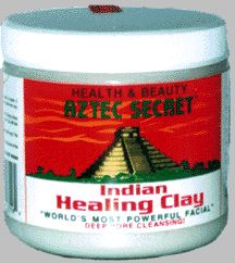 Aztec Indian Healing Clay - Best clay mask ever. Super cheap too.