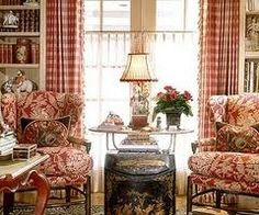 Charles Faudree   Love this! Country curtain sells curtains like this.