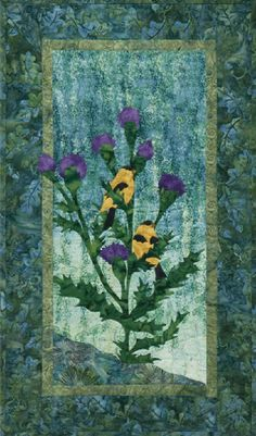 McKenna Ryan Quilt Pattern Lake Forest Thistle Do It Quilting DIY--12.50