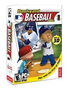 Backyard Baseball 2005 - PC Humongous Entertainment http://www.amazon.com/dp/B0000TQRDK/ref=cm_sw_r_pi_dp_x5ztxb0RNS591
