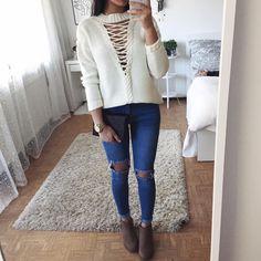 "14k Likes, 89 Comments - Thanya W. (@thanyaw) on Instagram: ""Sweater: @lookbookstoredaily """