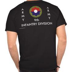 9th Inf Div T-Shirt/b