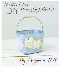 get crafty with Morgann Hill #diy #wedding #flowergirl http://www.amazon.com/Rustic-Chic-Wedding-Projects-Crafting/dp/0762448830/ref=sr_1_1?ie=UTF8&qid=1391196576&sr=8-1&keywords=rustic+chic+wedding
