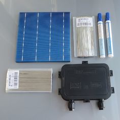 (135.00$)  Watch now - http://ai31y.worlditems.win/all/product.php?id=32794314104 - 250W DIY Solar Panel Kit 6x6 156 Polycrystalline Poly solar cell tab wire Bus wire Flux pen Junction Box WY