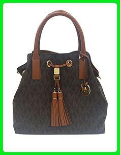 c3594325313f Michael Kors Camden Brown GL Satchel (35S6GCDS3B) - Shoulder bags ( Amazon  Partner