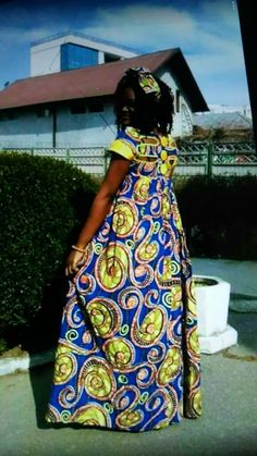 African Maxi Dresses, Ankara Dress Styles, African Dresses For Women, African Attire, African Wear, Office Dresses For Women, African Traditional Dresses, African Print Fashion, Modest Outfits