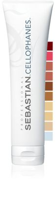 CELLOPHANES AMMONIA-FREE COLORIZING GLOSS TREATMENT Ammonia-free colorizing gloss to shine, shade and dramatize shapes. Translucently illuminates each strand.  #Sebastian #GlossTreatment