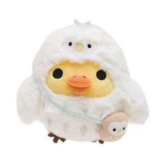 Kiiroitori Owl Plush Doll Store Limited Rilakkuma San-X Japan F/S Rilakkuma, Stuffed Animal Displays, Stuffed Animals, Plush Animals, Cute Animals, Monsters Inc Boo, Kawaii Plush, Hello Kitty Birthday, Cute Icons