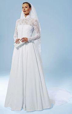 bridal dress118 Grace Kelly - 03 2008 - mariage Se marier comme les grands  de ce monde - tailleurs ou robes de mariée de rêve burdamode.com 6b5832df2d3