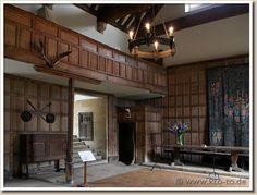 12th century medieval kitchen - haddon hall manor house