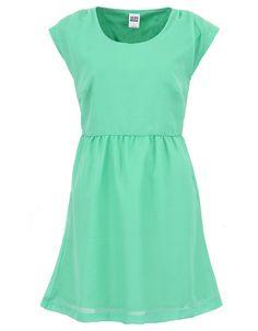 Zelené šaty na léto