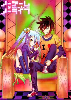 No Game No Life Fan Art by KalKrex.deviantart.com on @DeviantArt