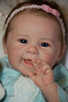 CUSTOM ORDER New Release Reborn Doll Baby Girl Maizie Andrea Arcello