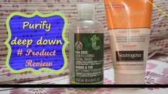 Neutrogena and body shop tea tree face-wash review Body Shop Tea Tree, The Body Shop, Tea Tree Face Wash, Tree Faces, Facial Wash, Beauty Review, Neutrogena, Clear Skin, Personal Care