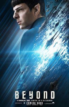 Pôster inédito de Star Trek: Sem Fronteiras coloca Spock em destaque