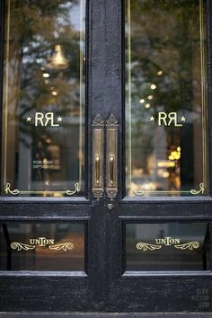 Image via We Heart It #awesome #door #glass #gold #style