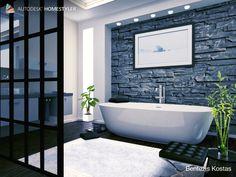 Sehen Sie sich mein #Innendesign 'DESIGN LUXURY. BY. C Clawfoot Bathtub, Spa, Bathroom, Washroom, Bath Room, Bath, Bathrooms