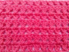 Punto Cruzado en Tejido Crochet