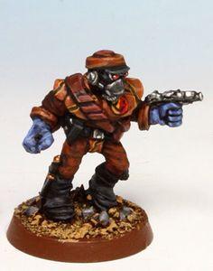 Mercenary Captain Worldburner