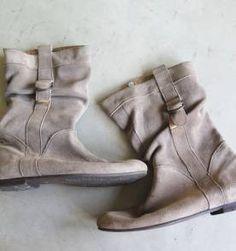 bota de camurça da side walk