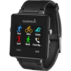 GPS Smartwatch for the Active LifestyleUltra-thin GPS smartwatch with a sunlight-readable, high-resolution color touchscreenBuilt-in sports apps, including GPS-enabled running, biking and golfing plus